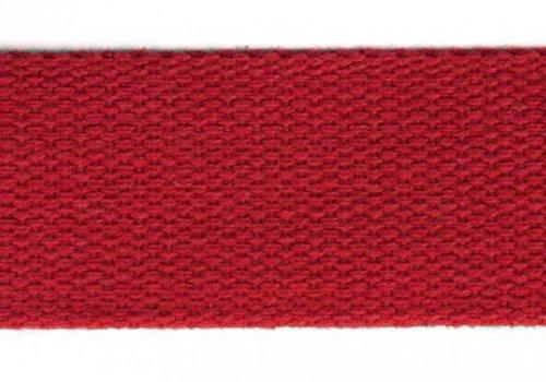 De Stoffenkamer Tassenband rood