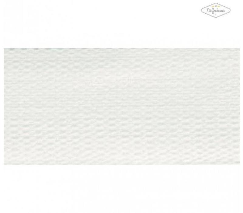 Tassenband sneeuwwit