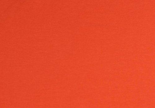 De Stoffenkamer Effen tricot Oranje