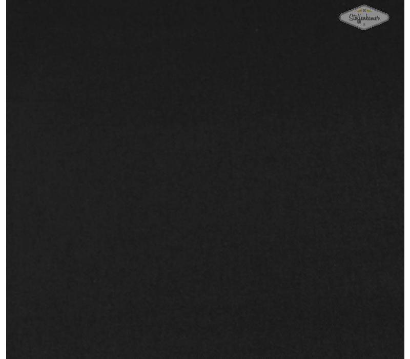 Canvas gabardine zwart