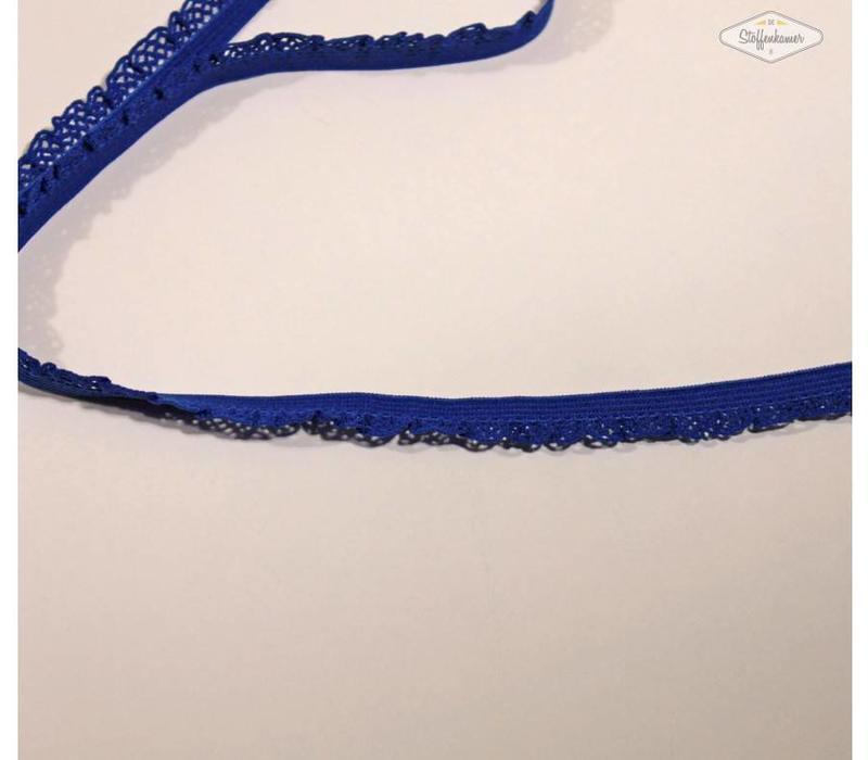 Sierelastiek 12mm Koningsblauw
