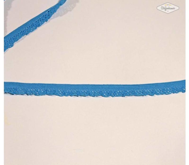 Sierelastiek 12mm Licht Turquoise