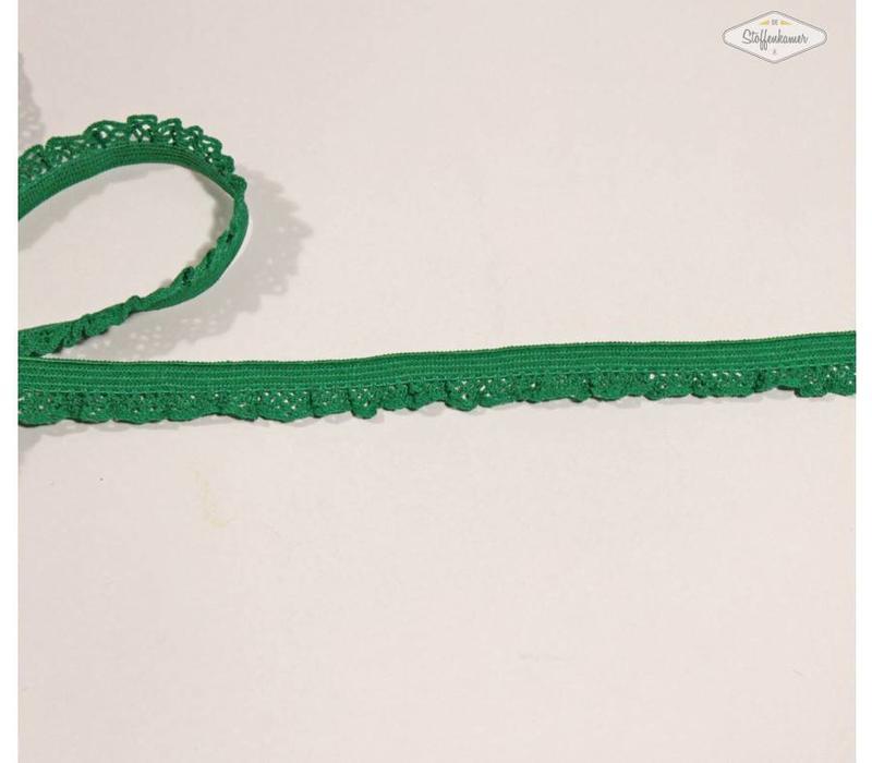 Sierelastiek 12mm Groen
