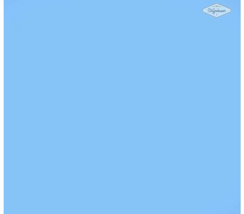 Flockfolie ijsblauw
