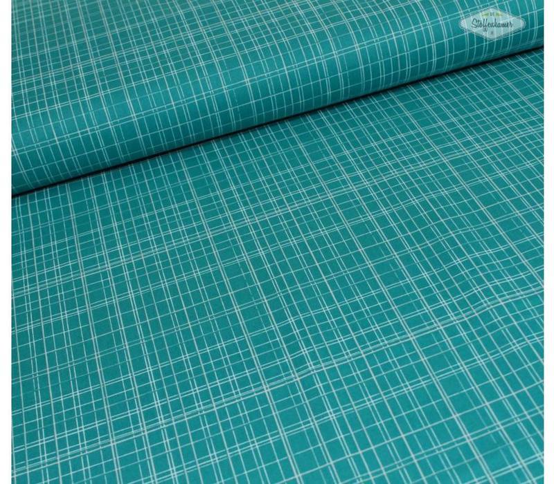 Windham Maribel Lines Turquoise