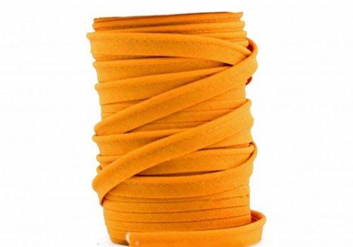 De Stoffenkamer Paspelband licht oranje