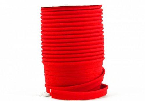 De Stoffenkamer Paspelband echt rood