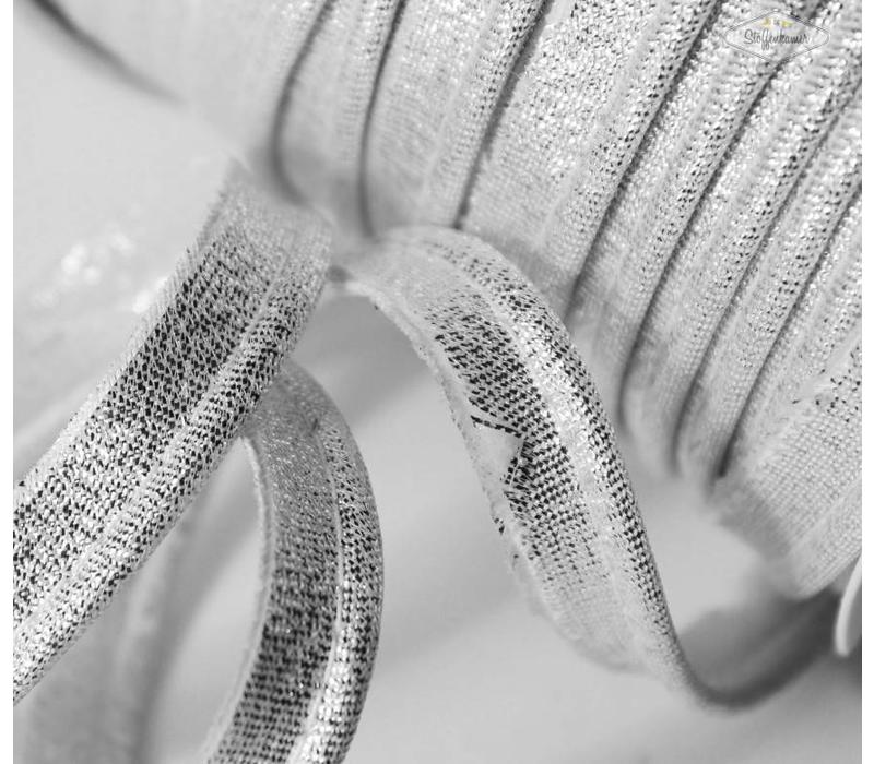 Paspelband zilver