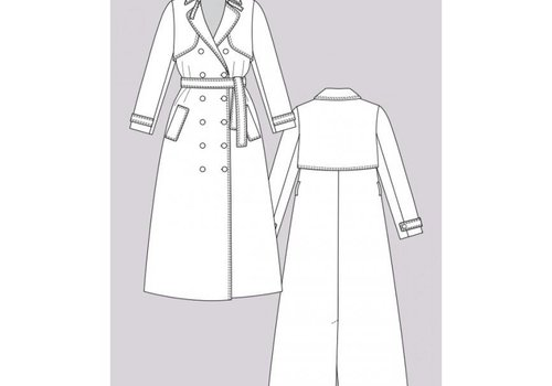 Named Isla Trench Coat