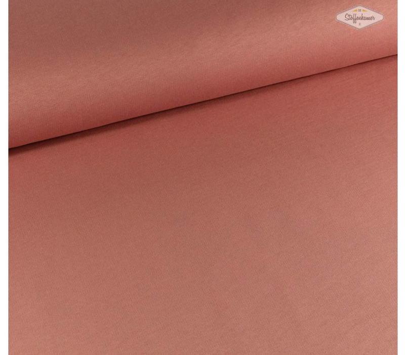Effen sweaterstof Roze