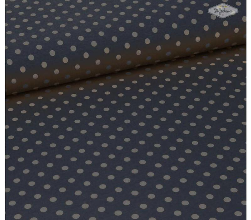 Big dots blauwgrijs