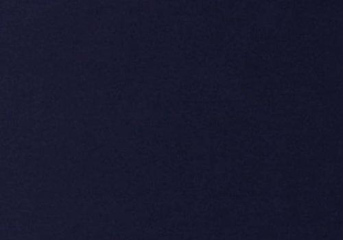 De Stoffenkamer Effen tricot Donkerblauw
