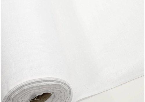 De Stoffenkamer Plakkatoen - kleefbatist wit