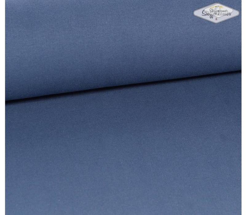 Boordstof Jeansblauw