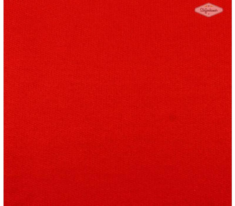 Effen sweaterstof Echt rood