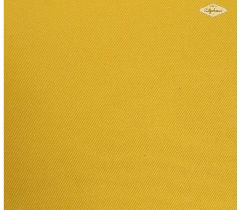 Effen tricot zonnegeel