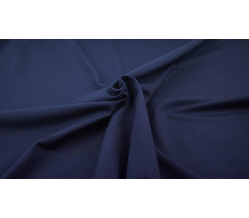 Effen tricot Donkerblauw