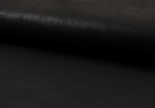 De Stoffenkamer Faux-Leather Black
