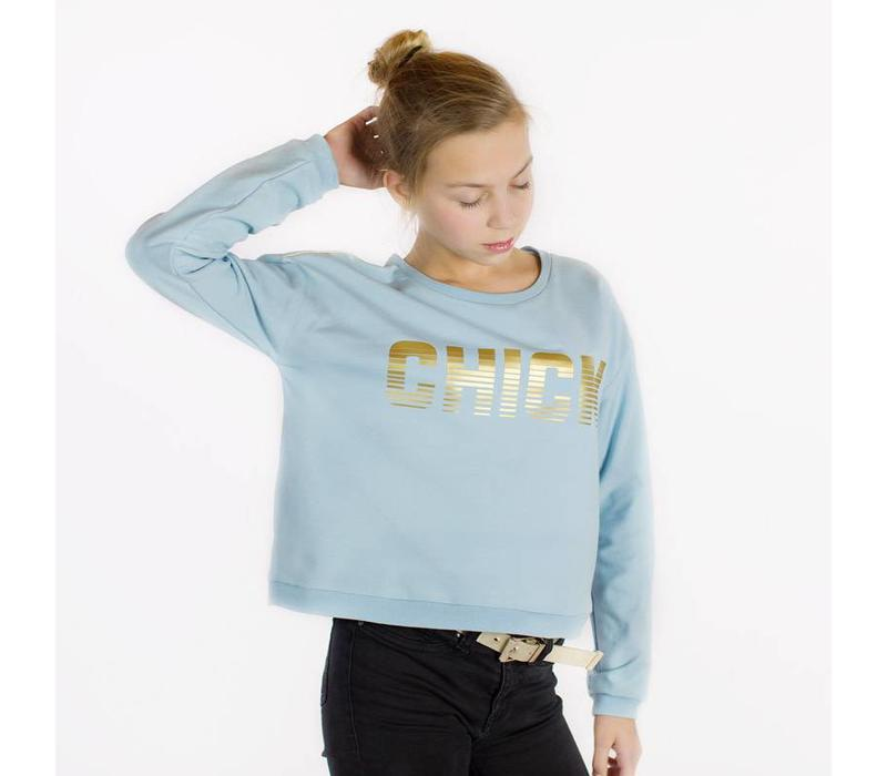 See You At Six Sweater Blue Fog UNI