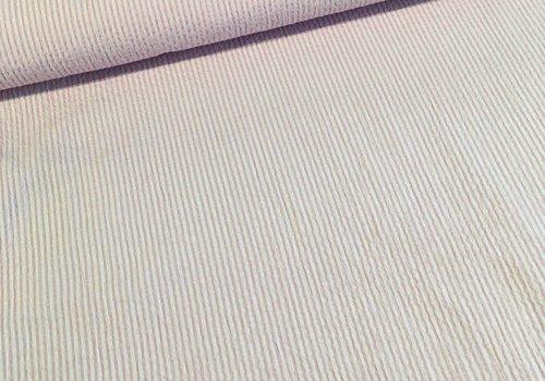 De Stoffenkamer Seersucker Mix Cotton Pink