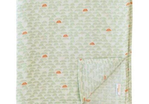 Trixie/Les Rêves Pebble Green Katoen