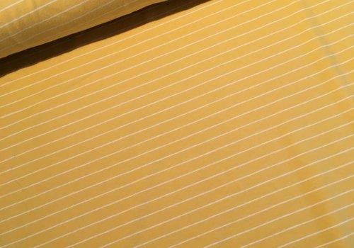 Art Gallery Yellow striped Knit