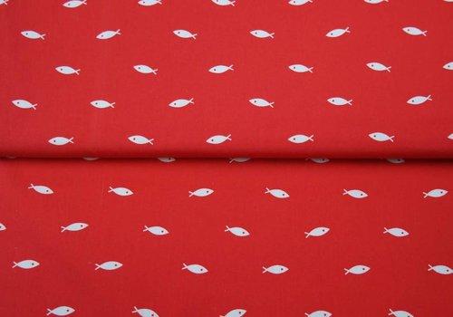 Stenzo BIO Tricot Stenzo fishies red