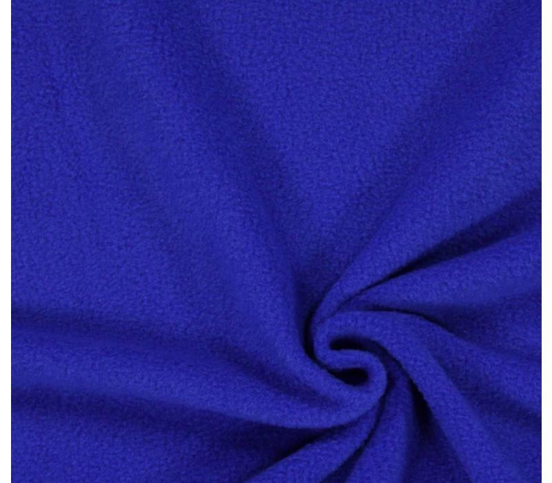 Extra dik tricot koningsblauw