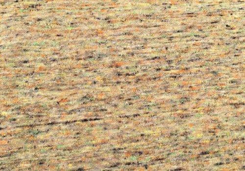 De Stoffenkamer Tricot melange multicolour green