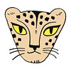 De Stoffenkamer Strijkapplicatie Eva Mouton cheetah