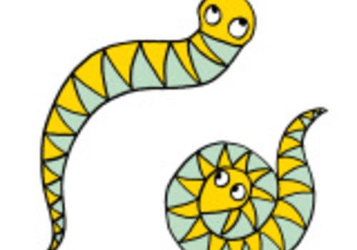 De Stoffenkamer Strijkapplicatie Eva Mouton slangen