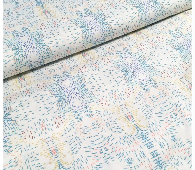 Multi stripes cotton