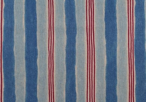 Kokka Trefle stripes Canvas