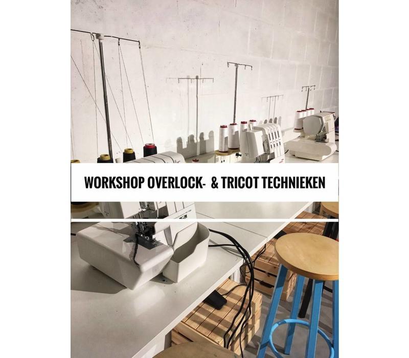 Workshop Overlock- & tricotreeks 7, 14 , 21/11