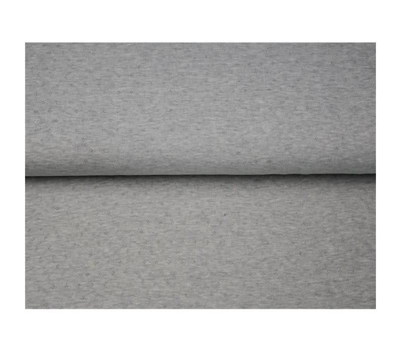 Ajour Tricot Mel̩e grey
