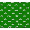 Baba Baby BIO Tricot green cars