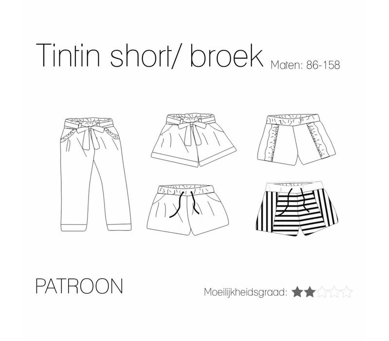 Tintin Short//Pants Oekeboeleke