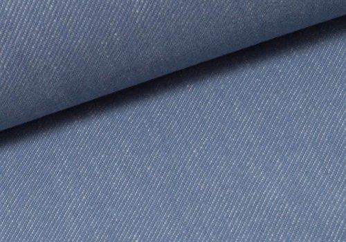 Lillestoff Tricot BIO Jeans Look Lightblue