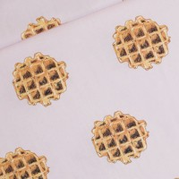 Cotton Lawn Waffles