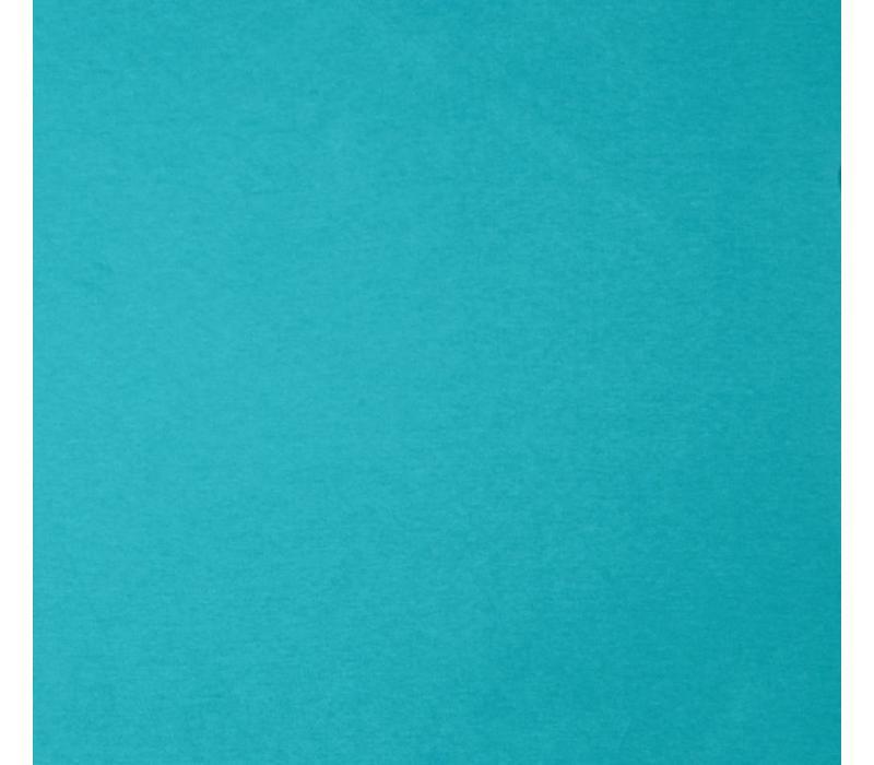 Boordstof felturquoise
