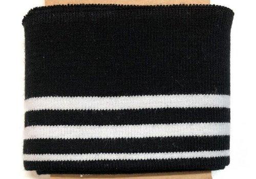 Albstoffe - Hamburgerliebe Cuff Me Black/white