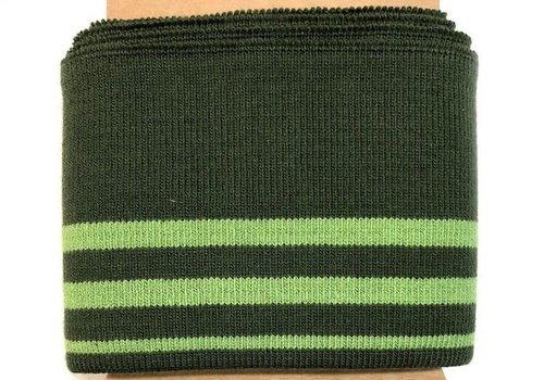 Albstoffe - Hamburgerliebe Cuff Me moss/green