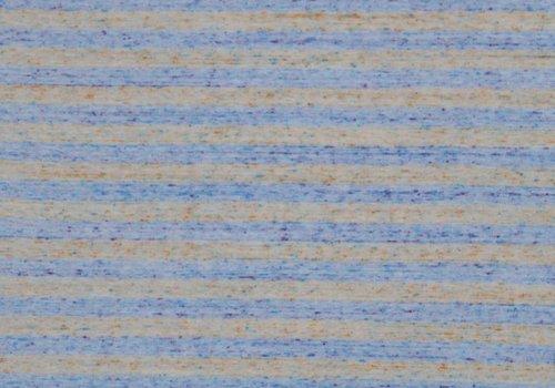 De Stoffenkamer Tricot melange orange stripes