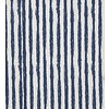 De Stoffenkamer Crooked stripes navy