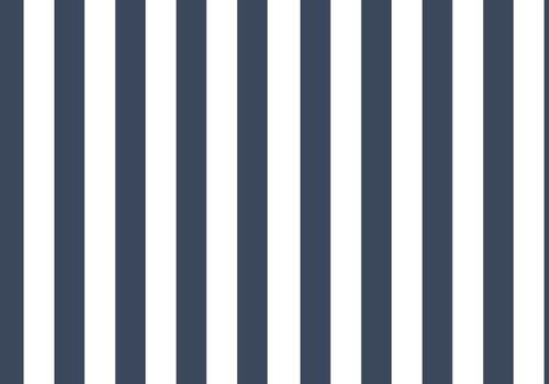 Elvelyckan Vertical Stripes dark blue