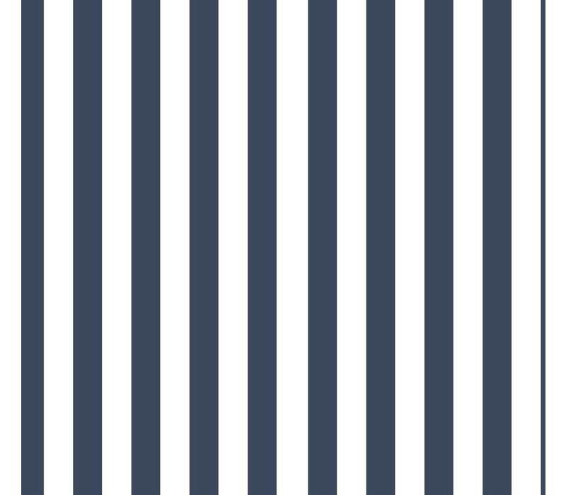 Vertical Stripes dark blue