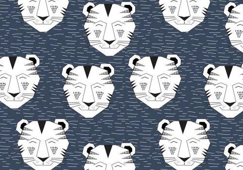 Elvelyckan Tiger dark blue