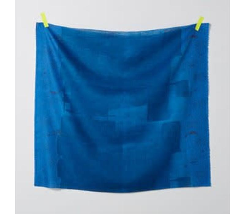 Double Gauze Nani Iro - wildflower blue