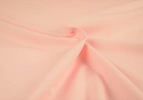De Stoffenkamer Effen katoen heel licht roze