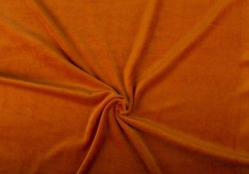 De Stoffenkamer nicky velours oranje